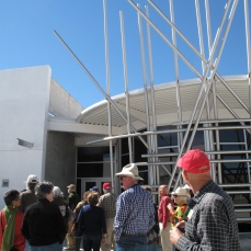 2013 Tour Group at Isleta Pueblo