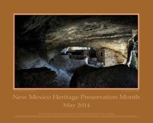 Preservation Month Poster2014