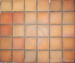 Use of terra cotta tiles from the region