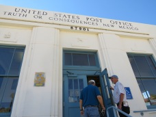 Members tour the TorC U.S. Post Office, built in 1939