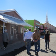 2015 tour participants enjoy TorC's bath house district
