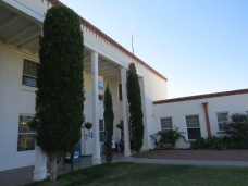 Entrance of NM Veterans Home. Built in 1937