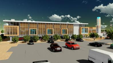 Library renderings (courtesy of RMKM)