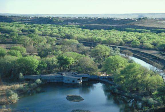 Rio Grande Nature Center and Preserve (courtesy of Antoine Predock)