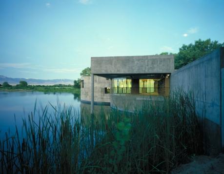 Rio Grand Nature Center (courtesy of Antoine Predock)