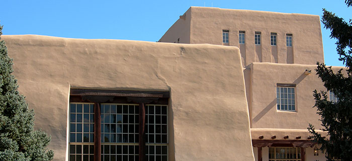 Photo: Zimmerman Library, Courtesy of UNM CSWR