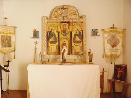 Inside the Oratorio de San Buenaventura