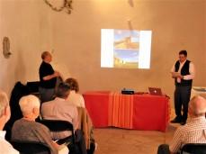 Bill Sabatini accepts awards for El Camino Real International Heritage Center