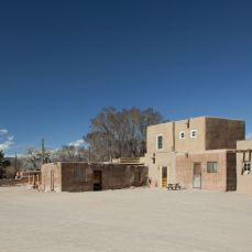 Bupingeh, the main plaza, looking west, 2012. Kate Russell Photography.