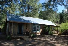 D.H. Lawrence House Homesteader's Cabin. Photo credit: https://dhlawrenceranch.unm.edu/d.h.-lawrence-ranch/index.html