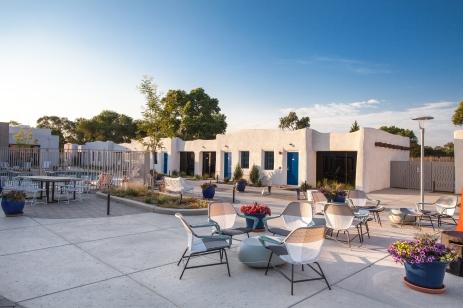 El Vado - Courtyard 1 - Matt Oberer - D+ NMAF
