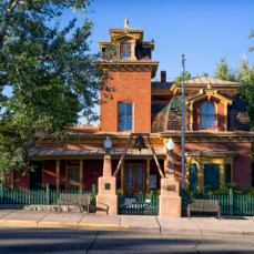 H. B. Ailman House 312 W. Broadway, Silver City, New Mexico (Photo courtesy of the Silver City Museum)