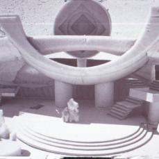 Soleri's Sytrofoam Model of the Theater